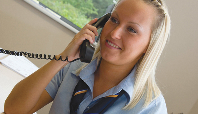 Our customer service advisers