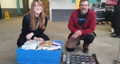 Northampton Team tackles poverty & homelessness