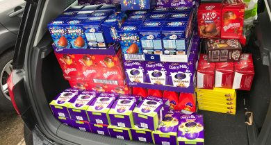 Runcorn office brings Easter cheer to...