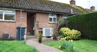 Social housing heat pump project from...