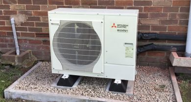 Sanctuary begins heat pump project to...